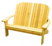 Click to see the latest addition to our photo gallery. Adirondack Loveseat